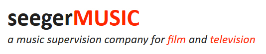 Seeger Music - Music Supervision for Film and TV